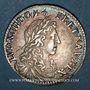 Monnaies Louis XIV (1643-1715). 1/12 écu du Dauphiné au buste juvénile 1660 Z. Grenoble