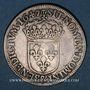 Monnaies Louis XIV (1643-1715). 1/2 écu à la mèche longue 1647 &. Aix