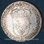 Monnaies Louis XIV (1643-1715). 1/2 écu à la mèche longue 1654 A