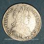Monnaies Louis XIV (1643-1715). 1/2 écu à la mèche longue 1660 L. Bayonne