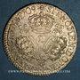 Monnaies Louis XIV (1643-1715). 1/2 écu aux 3 couronnes 1709 D. Lyon