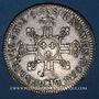 Monnaies Louis XIV (1643-1715). 1/2 écu aux 8 L, 2e type, 1704 A. Réformation