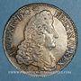 Monnaies Louis XIV (1643-1715). 1/2 écu aux 8L 1er type 1690 P. Dijon. Réformation