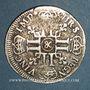 Monnaies Louis XIV (1643-1715). 1/2 écu aux 8L 1er type. 1690& Aix