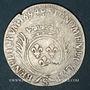Monnaies Louis XIV (1643-1715). 1/2 écu aux palmes 1694S. Troyes. Réformation