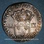 Monnaies Louis XIV (1643-1715). 1/4 d'écu 1644 MA. Marseille