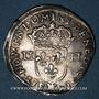 Monnaies Louis XIV (1643-1715). 1/4 d'écu 1645 MA. Marseille. R ! R ! R !