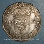 Monnaies Louis XIV (1643-1715). 1/4 d'écu 1646 K (croissant). Bordeaux