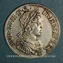 Monnaies Louis XIV (1643-1715). 1/4 écu à la mèche courte 1643 A point