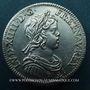 Monnaies Louis XIV (1643-1715). 1/4 écu à la mèche courte 1644 A. Point initial au revers