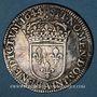 Monnaies Louis XIV (1643-1715). 1/4 écu à la mèche courte 1644A