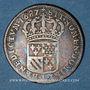 Monnaies Louis XIV (1643-1715). 1/8 d'écu de Flandre 1687 L couronné