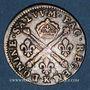 Monnaies Louis XIV (1643-1715). 10 sols aux insignes 1704 K. Bordeaux