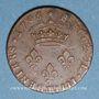 Monnaies Louis XIV (1643-1715). 4 deniers de Strasbourg 17086 BB. Légende latine