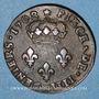 Monnaies Louis XIV (1643-1715). 4 deniers de Strasbourg 1708BB. Légende latine