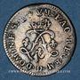 Monnaies Louis XIV (1643-1715). 4 sols aux 2 L (169)2 D. Lyon. Réformation.