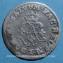 Monnaies Louis XIV (1643-1715). 4 sols aux 2 L 1691 A. Réformation.