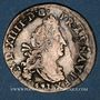 Monnaies Louis XIV (1643-1715). 4 sols aux 2 L 1691 &. Aix. Sans soleil. Réformation.