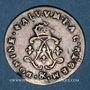 Monnaies Louis XIV (1643-1715). 4 sols aux 2 L 1693 &. Aix. Réformation.