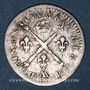 Monnaies Louis XIV (1643-1715). 5 sols aux insignes 1702 AA. Metz