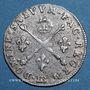 Monnaies Louis XIV (1643-1715). 5 sols aux insignes 1702 BB. Strasbourg