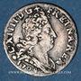 Monnaies Louis XIV (1643-1715). 5 sols aux insignes 1704 BB. Strasbourg