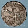 Monnaies Louis XIV (1643-1715). 6 deniers dits dardenne 1710 &. Aix