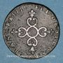 Monnaies Louis XIV (1643-1715). 6 deniers dits dardenne 1710N. Montpellier