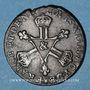 Monnaies Louis XIV (1643-1715). 6 deniers dits dardenne 1711 &. Aix
