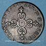 Monnaies Louis XIV (1643-1715). 6 deniers dits dardenne 1711&. Aix