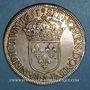 Monnaies Louis XIV (1643-1715). Ecu à la mèche longue 1651 A (D.G*)