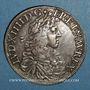 Monnaies Louis XIV (1643-1715). Ecu au buste juvénile 1669 L. Bayonne (palme)