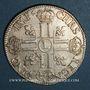 Monnaies Louis XIV (1643-1715). Ecu aux 8L 1er type 1690 L couronné. Lille. Flan neuf