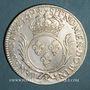 Monnaies Louis XIV (1643-1715). Ecu aux palmes 1694&. Aix. Réformation