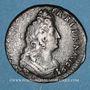Monnaies Louis XIV (1643-1715). Liard de France au buste âgé, 3e type, 1693&. Aix