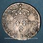 Monnaies Louis XIV (1643-1715). Monnayage particulier de Strasbourg. 11 sols 1710 BB