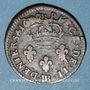 Monnaies Louis XIV (1643-1715). Monnayage particulier de Strasbourg. 2 deniers de Strasbourg 1699BB