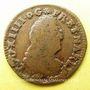 Monnaies Louis XIV (1643-1715). Monnayage particulier de Strasbourg. 2 deniers de Strasbourg 1708 BB