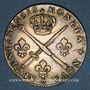 Monnaies Louis XIV (1643-1715). Monnayage particulier de Strasbourg. 33 sols 1705 BB