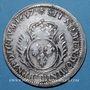 Monnaies Louis XIV (1643-1715). Monnayage particulier de Strasbourg. 34 sols aux palmes 1697BB. Réformation
