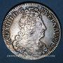 Monnaies Louis XIV (1643-1715). Monnayage particulier de Strasbourg. 44 sols 1711 BB