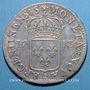 Monnaies Louis XIV (1643-1715). Monnayage particulier de Strasbourg. 44 sols 1713 A