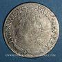 Monnaies Louis XIV (1643-1715). Monnayage particulier de Strasbourg. 44 sols de Strasbourg 1709 BB