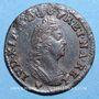 Monnaies Louis XIV (1643-1715). Monnayage particulier de Strasbourg. Deux deniers 1708 BB
