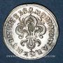 Monnaies Louis XIV (1643-1715). Monnayage particulier de Strasbourg. I sol de Strasbourg 1682