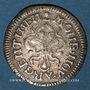 Monnaies Louis XIV (1643-1715). Monnayage particulier de Strasbourg. II sols de Strasbourg 1682