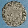 Monnaies Louis XIV (1643-1715). Monnayage particulier de Strasbourg. II sols de Strasbourg 1687