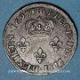 Monnaies Louis XIV (1643-1715). Monnayage particulier de Strasbourg. Quatre deniers 1697 BB