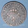 Monnaies Louis XIV (1643-1715). Monnayage particulier de Strasbourg. Quatre deniers 1698 BB.