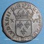 Monnaies Louis XIV (1643-1715). Monnayage particulier de Strasbourg. XVI deniers 1696 BB